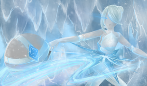 FrostBall/Glacier Orianna by AllouchSukeshi