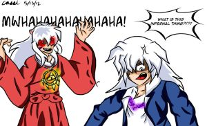 Request - Bakura and Inuyasha - Jewelry Switching? by CassirollChan