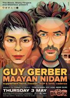 Guy Gerber + Maayan Nidam at The Block by prop4g4nd4