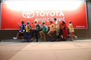 TOYOTA: Moving Foward by missdang