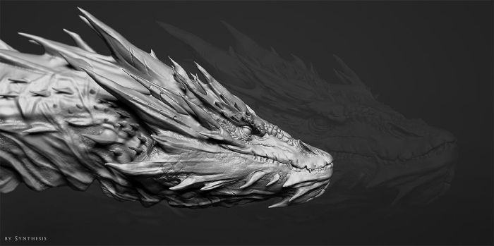 Smaug Wip by synthesys