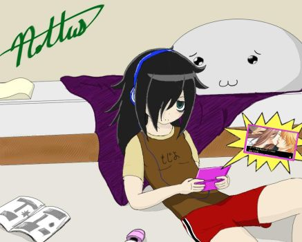 Watamote by Nottus64