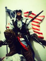 Conner Kenway figure by D4RKPR1NCE-86