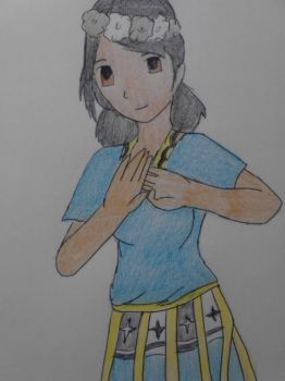Tuvalu (Hetalia OC Work in Progress Picture 2) by Blackrosehunter