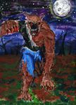 Werewolf painting by theaven