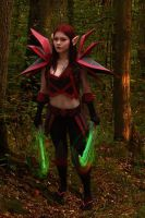 T2 rogue Bloodfang armor world of warcraft cosplay by Marino-cosplay