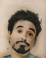 Robert John Downey Jr. by AveCaesarus
