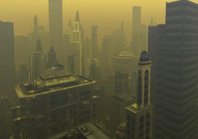 Smog Industry by luchare