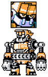 Mighty No 4 Sprites by hfbn2