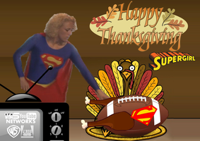 HAPPY THANKSGIVING EVERYONE!!! #2(Supergirl) by WONTV5