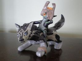 Wolf and the Twilight Princess by leodragon42