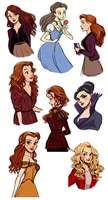 OUAT ladies by Vestergaard