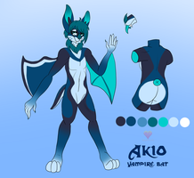 Akio Ref by HoneyHeartStudios
