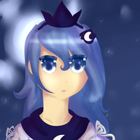 Princess Luna -Another Test- by Elssuh