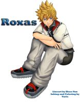 Roxas: Collab with Zhao_Yun by 9Taria6
