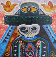 SugarSkull Boy by raamon