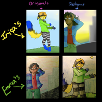 REDRAW COMPILATION THING by IrrelevantFrenchFry