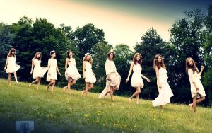 Girls' Generation 2012 Wallpaper by tplt95