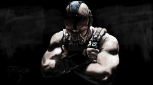 The Dark Knight Rises - Tom Hardy - Bane by greQ111
