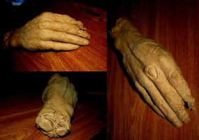 Zombie hand by asconch
