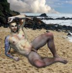 Lochlan on the beach by grfk-dsgn
