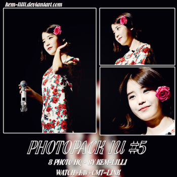 [PHOTOPACK] IU - LEE JI EUN #5 by Kem-Lilli