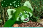 Greenie IRL by AmaltheaTwin