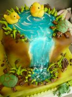 Duckie Cake by keki-girl