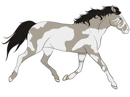 Horse adopt 1 CLOSED by petshop101