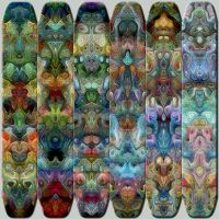 Totemic Wall Panel 2 by james119