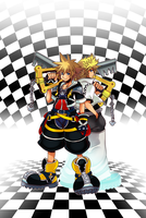 .:Sora and Roxas:. by ss2sonic