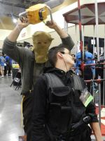 Phoenix Comicon 2014 Resident Evil Dr.Salvador by Demon-Lord-Cosplay