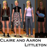 Claire Aaron Littleton-Sims3 by pudn