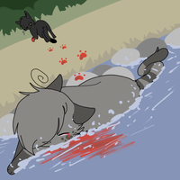 Ashfur's death Contest by Niutellat