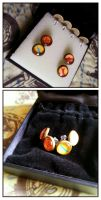 Team Fortress 2 Ear Studs by Zartbitter-Salat