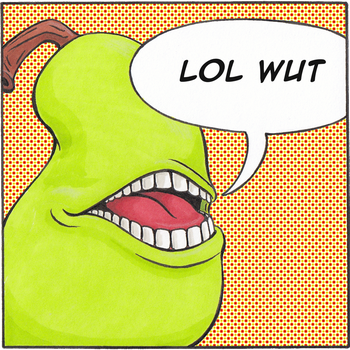 A Word From our Pear Friend by XeviousGreenII