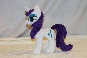 Tiny Wet Mane Rarity Plush by KarasuNezumi