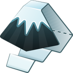 Inkscape icon 512x512px with alpha transparency by nikdo-org