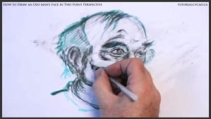 Draw An Old Man's Face In Two Point Perspective 36 by drawingcourse