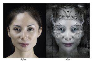before and after by greycamera