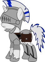 Guard Pony by Forgotten-remnant
