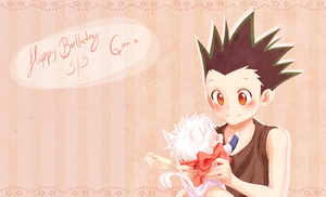 Happy Birthday Gon Freecss! - HxH by Alderion-Al