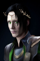 Sir Laufeyson-(Loki) by MischievousMonster