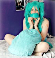 Hatsune Miku~ Moustache by Whimsical-Angel