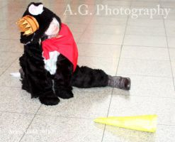 Cait sith Cosplay Mcm Expo by redwolf18blue