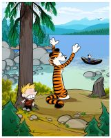 Calvin and Hobbes. by bloglaurel