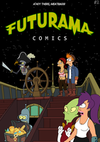 Futurama - Tales of Meatbag Island - FRONT COVER by Spider-Matt