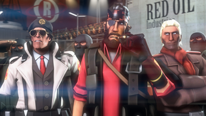 SFM Poster: Diamond Dogs by PatrickJr