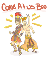 Smite: Come At Us Bro! by Ziggy83