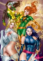 X-WOMEN by Ed Benes by tony058